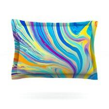 Rainbow Swirl by Ingrid Beddoes Featherweight Pillow Sham