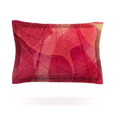 Delicate Leaves by Ingrid Beddoes Pillow Sham