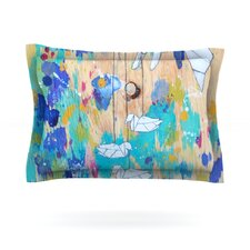 Origami Strings by Kira Crees Pillow Sham