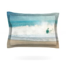 Ocean Blues by Ingrid Beddoes Featherweight Pillow Sham