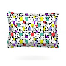My Happy Squares by Julia Grifol Pillow Sham