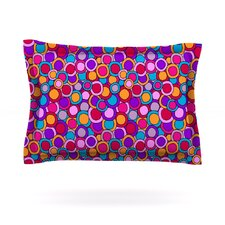 My Colourful Circles by Julia Grifol Pillow Sham