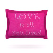 Love is All You Need by Iris Lehnhardt Pillow Sham
