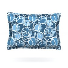 Simple Circles by Julia Grifol Pillow Sham