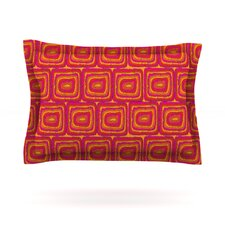 Bright Squares by Nandita Singh Featherweight Pillow Sham