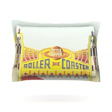 Life is a Rollercoaster by Libertad Leal Featherweight Pillow Sham