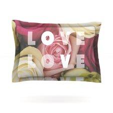 Love Love Love by Libertad Leal Pillow Sham