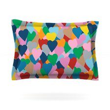 More Hearts by Project M Pillow Sham