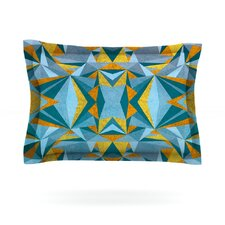 Abstraction by Nika Martinez Cotton Pillow Sham