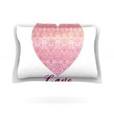Love by Pom Graphic Design Pillow Sham