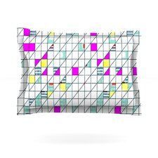 Squares by Michelle Drew Featherweight Pillow Sham