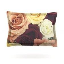 Vintage Roses by Libertad Leal Pillow Sham