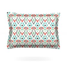 Tribal Leaves by Pom Graphic Design Pillow Sham