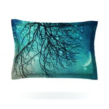 Winter Moon by Sylvia Cook Featherweight Pillow Sham
