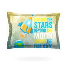 Explore the stars by Nick Atkinson Pillow Sham