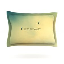 Let's Fly Away by Richard Casillas Featherweight Pillow Sham