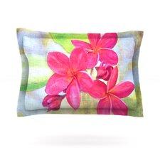 Plumeria by Sylvia Cook Pillow Sham