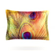 Peacock Feather by Sylvia Cook Pillow Sham