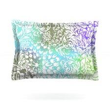 Blue Bloom Softly for You by Vikki Salmela Pillow Sham