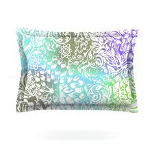 Blue Bloom Softly for You by Vikki Salmela Featherweight Pillow Sham