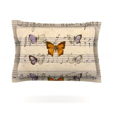Butterfly Opera by Suzanne Carter Featherweight Pillow Sham
