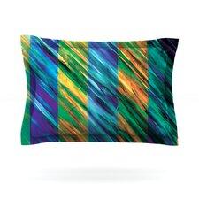 Set Stripes II by Theresa Giolzetti Pillow Sham