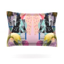 Flamingo Tropical by Vasare Nar Pillow Sham