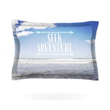 Seek Adventure by Susannah Tucker Pillow Sham