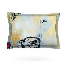Ostrich by Sonal Nathwani Pillow Sham