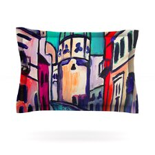 Procida Teal by Theresa Giolzetti Pillow Sham