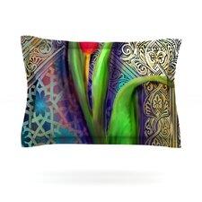 Arabesque Tulip by S. Seema Z Featherweight Pillow Sham