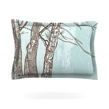 Winter Trees by Sam Posnick Featherweight Pillow Sham