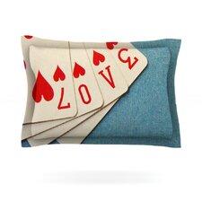 Love by Skye Zambrana Pillow Sham