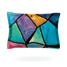 Stain Glass 2 by Theresa Giolzetti Featherweight Pillow Sham