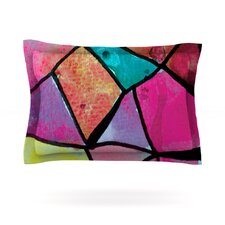 Stain Glass 3 by Theresa Giolzetti Pillow Sham