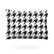 Spacey Houndstooth by Empire Ruhl Pillow Sham
