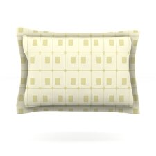 Squares in Square by Fotios Pavlopoulos Featherweight Pillow Sham
