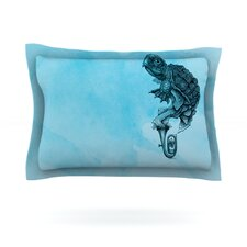 Turtle Tuba III by Graham Curran Pillow Sham