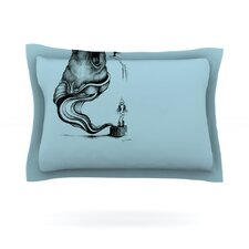 Hot Tub Hunter II by Graham Curran Pillow Sham