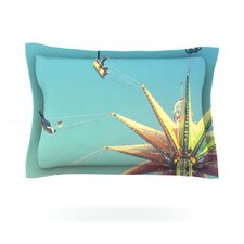 Flying Chairs by Libertad Leal Pillow Sham