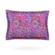 My Happy Flowers by Julia Grifol Pillow Sham