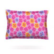 My Pink Garden by Julia Grifol Pillow Sham