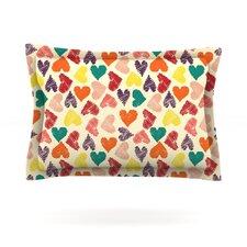 Little Hearts by Louise Machado Pillow Sham