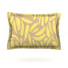 Yellow Feather by Skye Zambrana Pillow Sham