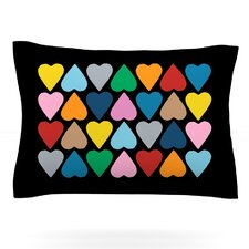 Up and Down Hearts by Project M Pillow Sham