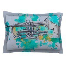 Hunting For Jazz Blue by Kira Crees Pillow Sham