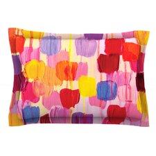 Dotty in Pink by Ebi Emporium Pillow Sham