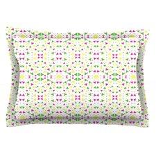 Neon Triangles by Empire Ruhl Pillow Sham