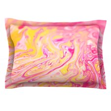Bubble Gum Pink by Ingrid Beddoes Pillow Sham