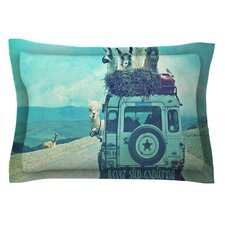 Never Stop Exploring III by Monika Strigel Pillow Sham
